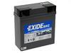Motobaterie EXIDE BIKE Factory Sealed 19Ah - 12V, 180A, GEL12-19