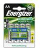 Baterie Energizer Power Plus, HR6, AA, 2000mAh (Blistr 4ks) nabíjecí