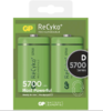 Baterie GP Recyko+ HR20, D, nabíjecí, 5700mAh, (Blistr 2ks)