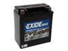 Motobaterie EXIDE BIKE Factory Sealed 12Ah, 12V, 200A, AGM12-12 (YTX14-BS)