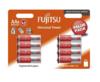 Baterie Fujitsu Universal Power AA, LR6, alkaline, (Blistr 8ks)