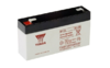 Záložní akumulátor (baterie) Yuasa NP 1,2-6 (1,2Ah, 6V)