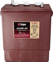 Trakční baterie Trojan J 305 E, 305Ah, 6V - průmyslová profi - 1