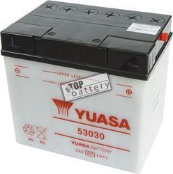 Motobaterie YUASA 53030, 12V, 30Ah - 1