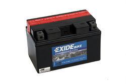 Motobaterie EXIDE BIKE Maintenance Free 8,6Ah, 12V, 145A, YTZ10-BS - 1