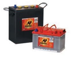 Trakční bloková baterie 3 PzF 205, 270Ah, 6V - průmyslová profi