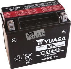 Motobaterie YUASA YTX12-BS, 12V, 10Ah - 1