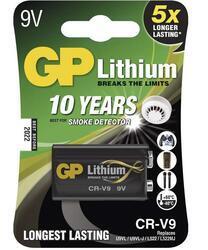 Baterie GP CR-V9, Lithium, 9V, 1022000911, (Blistr 1ks) - 1