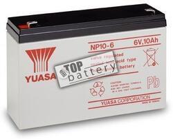 Záložní akumulátor (baterie) Yuasa NP 10-6 (10Ah, 6V) - 1