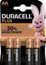 Baterie Duracell Plus Power MN1500, AA, (Blistr 4ks) - 1