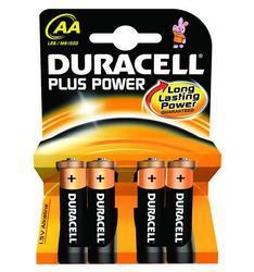 Baterie Duracell Plus Power MN1500, AA, (Blistr 4ks) - 1