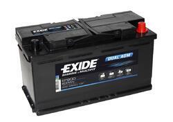 Trakční baterie EXIDE DUAL AGM, 12V, 95Ah, 850A, EP800