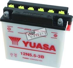 Motobaterie YUASA 12N5.5-3B, 12V, 5,5Ah