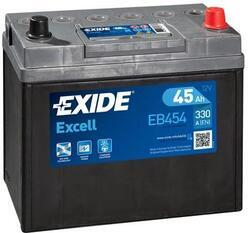 Autobaterie EXIDE Excell 12V, 45Ah, 300A, EB454 - 1