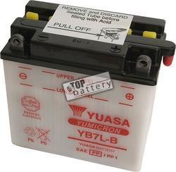Motobaterie Yuasa YB7L-B, 12V, 8Ah