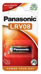 Baterie Panasonic 23AE, LRV08, 23A, Alkaline, 12V, (Blistr 1ks) - 1