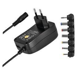 Pulzní USB napájecí zdroj N3112, 1500mA, 3V - 12V s hřebínkem (Blister 1ks) - 1
