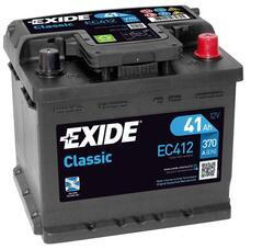 Autobaterie EXIDE Classic, 12V, 41Ah, 370A, EC412 - 1