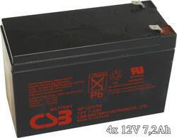 APC RBC59 - náhradní baterie ( 4 x CSB GP1272F2 )
