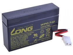 Baterie Long 12V, 0,7Ah olověný akumulátor AMP - 1