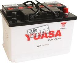 Autobaterie YUASA 57420, 74Ah, 12V, 670A (zprovozněná) - 1