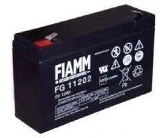 Olověný akumulátor Fiamm FG11202, 12Ah, 6V, (faston 250) - 1