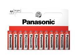 Baterie Panasonic zinco-carbon, R6RZ, AA, (Blistr 10ks) - 1