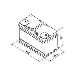 Autobaterie VARTA Silver Dynamic 85Ah, 800A 12V (F18) - 1