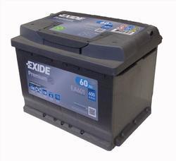 Autobaterie EXIDE Premium, Carbon Boost, 12V, 60Ah, 600A, EA601 - Levá - 1