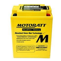 Motobaterie Motobatt MBTX14AU, 12V, 16,5Ah, 190A (YB14L-A2, 12N14-3A) - 1