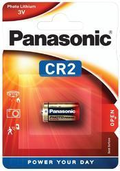 Baterie Panasonic CR2, Lithium, fotobaterie, 3V, (Blistr 1ks) - 1