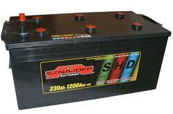 Autobaterie Sznajder SHD 230Ah, 12V, startovací proud 1100A - 1
