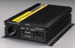 Měnič+dobíječ z 12V DC na 230V AC 1000W trvale - 1