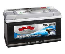 Autobaterie Sznajder Silver Premium 100Ah, 12V, startovací proud 900A, 60035