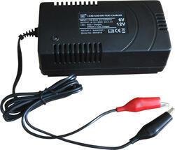 Nabíječka MVA818, 3A pro 6V a 12V olověné AGM/GEL akumulátory, 1ks