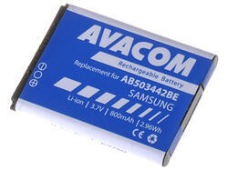 Baterie Samsung J700, E570, 3,7V, 800mAh (náhrada AB503442BE)