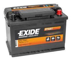 Autobaterie EXIDE Start, 12V, 74Ah, 680A, EN750 - 1