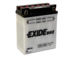 Motobaterie EXIDE BIKE Conventional 9Ah, 12V, YB9-B - 1
