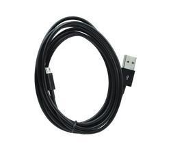 Datový /nabíjecí kabel Micro USB, délka 2m, černý