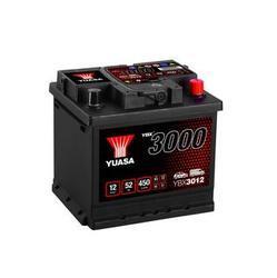 Autobaterie Yuasa YBX3000, 52Ah, 12V, 450A (YBX3012) - 1