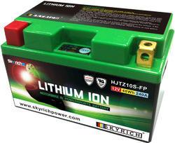 Motobaterie Skyrich HJTZ10S-FP Lithium (12V, 4Ah, 240A, 48Wh)