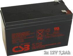 APC RBC22 - náhradní baterie ( 2 x CSB GP1272F2 )