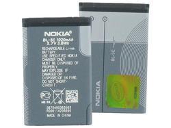 Baterie Nokia BL-5C, 1020mAh, Li-ion, originál (bulk) - 1