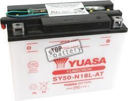 Motobaterie Yuasa SY50-N18L-AT, 12V, 20Ah