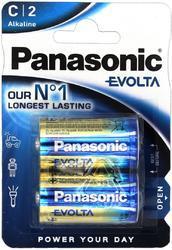 Baterie Panasonic Evolta Alkaline, LR14, C, (Blistr 2ks) - 1