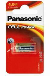 Baterie Panasonic Alkaline 4LR44, 476A, 28A, V4034PX, 2CR1/3N, VX, 6V (Blistr 1ks) - 1