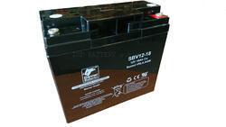 Záložní baterie SBV 12-18, 12V, 18Ah - rounová (životnost 10 let)