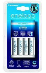 Nabíječka Panasonic Eneloop Charger BQ-CC51E, K-KJ51MCC40E + 4xBK-3MCCE, AA, 1900mAh - 1