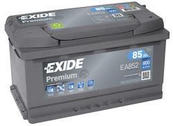 Autobaterie EXIDE Premium, Carbon Boost, 12V, 85Ah, 800A, EA852 - 1