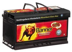 Autobaterie Banner Running Bull AGM 605 01, 105Ah, 12V, 950A (60501) - 1